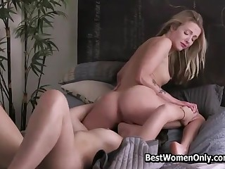 Handsome Lesbians Best Friends Hot Sensual Sex Video