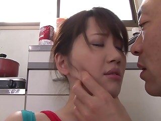 Stopping pussy licking Anna Kishi wants to cumulate enter a friend's pecker