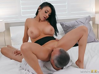 Keiran Lee is lucky to turtle-dove Audrey Bitoni upstairs the bed