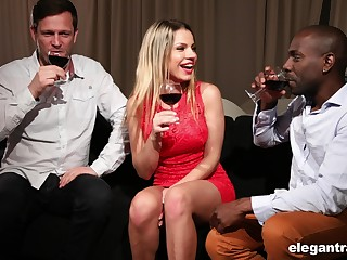 Rendezvous with Angel Rivas ends with passionate threesome sex